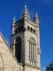 OH Columbus - First AME Zion Church (scottamus) Tags: columbus ohio franklincounty church steeple spire building architecture firstamezionchurch