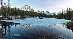 Frozen Idaho Sawtooths Lake (boysoccer3) Tags: idaho sawtooths sawtooth mountains hiking backpacking backcountry utah wyoming colorado uintas grandtetonnationalpark frozen lake trout frozenlake montana