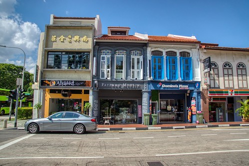 Traditional shop houses on Arab Street in Singapore