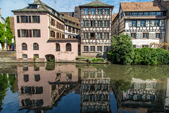 Strasbourg Architecture (Jill Clardy) Tags: cruise france river europe strasbourg viking rhine basrhin architecture reflections grande ile medieval reflected half timbered 201905309l8a4228