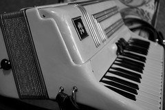 Accordion in B&W (Toats Master) Tags: smileonsaturday music accordion keys bellows instrument musicinbw