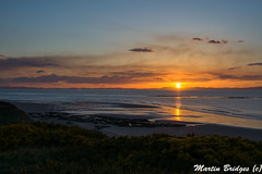Sunset at Covesea (Martin Bridges Photography) Tags: lossiemouth covesea covesealighthouse beach water reflection sea coast scotland sunset outside moray blackisle highlands nikon nikkor
