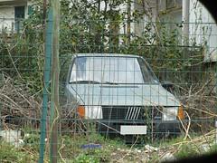 Fiat Uno 45 3p 903 '85 (Marianoauto) Tags: fiat fiatuno uno car cars carspotter carspotting vintage abbandoned italiancar