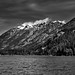 A Vista View of Mountains Around Lake Chelan (Black & White, North Cascades National Park Service Complex)