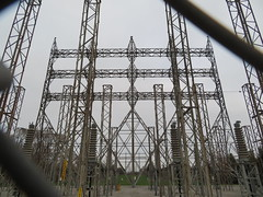 Abandoned hydro towers (Sean_Marshall) Tags: abandoned ontariohydro hydro power lakeview mississauga
