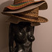 Hats on Statue