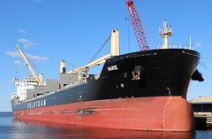 Narie (raserf) Tags: narie polsteam jones island milwaukee wisconsin county saltie lake michigan great lakes steel coils cargo ship polish steamship company szczecin poland bulker nassau bahamas imo9767728 port of vessel