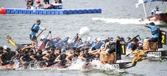 D5X_0525 (footeefok) Tags: singapore dragonboat marinabay watersports sports peoples water boats drums dbs dbsmarinaregatta dragonboatrace race