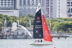 D5X_1010 (footeefok) Tags: singapore dragonboat marinabay watersports sports peoples water boats drums dbs dbsmarinaregatta dragonboatrace race