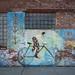 Street Art on Bricks - Long Island City, Queens