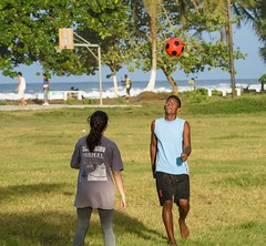 Happy Header (Michael Burke Images) Tags: soccer tortuguero spring costarica