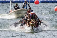 D5X_1068 (footeefok) Tags: singapore dragonboat marinabay watersports sports peoples water boats drums dbs dbsmarinaregatta dragonboatrace race