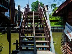 Wooden bridge (Thanathip Moolvong) Tags: bridge thailand wooden bangkok ladkrabang