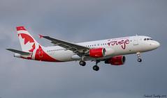 Air Canada Rouge / Airbus A320-214 / C-GFCH / YQB / Ex Interjet (tremblayfrederick98) Tags: airbus aircanada a320 320 rouge aircanadarouge interjet