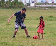 Face Off (Michael Burke Images) Tags: soccer tortuguero spring costarica