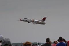F-100 Super Sabre (viktrav) Tags: airshow fortwayneairshow 2019 f100 supersabre fighter jet