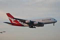Qantas Airways A380-842 (VH-OQL) - Go Around (1) (hsckcwong) Tags: qantas qantasairways a380842 a380 vhoql lax klax