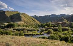 Confluens of Panther and Clear Creeks - Idaho (petechar) Tags: charlesrpeterson petechar landscape creek panthercreek clearcreek confluens mountains salmonchallisnationalforest lemhicounty idaho panasonicgx9 panasonic14140mm