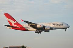 Qantas Airways A380-842 (VH-OQL) LAX Approach 4 (hsckcwong) Tags: qantas qantasairways a380842 a380 vhoql lax klax