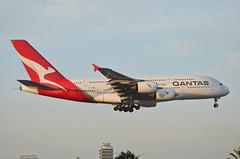Qantas Airways A380-842 (VH-OQL) LAX Approach 5 (hsckcwong) Tags: qantas qantasairways a380842 a380 vhoql lax klax