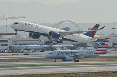 Delta Airlines A350-941 (N501DN) LAX Takeoff 1 (hsckcwong) Tags: deltaairlines a350941 a350900 a350 n501dn lax klax