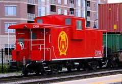 Fresh CP Beaverboose (Jeff Carlson_82) Tags: cp cprail canadianpacific soo sooline caboose 94 franklinpark doublestack transfer fresh repaint repainted chicagoland train railroad railfan railway il illinois