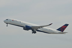 Delta Airlines A350-941 (N501DN) LAX Takeoff 3 (hsckcwong) Tags: deltaairlines a350941 a350900 a350 n501dn lax klax