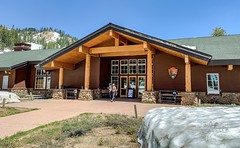 Lassen Volcanic National Park in the Cascade Mountain Range of Northern California:  Kohm Yah-mah-née Visitor Center (lhboudreau) Tags: