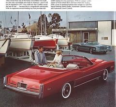 1976 Cadillac Eldorado (Hugo-90) Tags: 1976 cadillac ads advertising brochure eldorado convertible