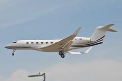 Qatar Executive  Gulfstream G650ER (A7-CGE) LAX Approach 3 (hsckcwong) Tags: qatarexecutive g650er gulfstreamg650er a7cge lax klax