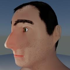 MaleFace013 (PhotonPirate) Tags: blender blender3d vfx 3d cycles render bust sculpture head portrait