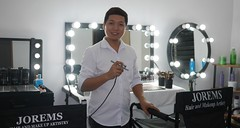 The Artist (Jorems Hair and Makeup Artistry) Tags: joremshairandmakeupartistry professionalmakeupartistphilippines professionalmakeupartistmanila weddinghairandmakeupphilippines wedding makeup artist ph