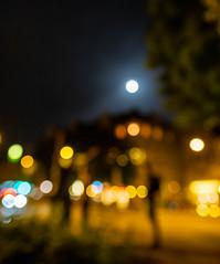 Moon and city lights bokeh (christos.tsiapalis) Tags: 365 project365