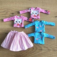 (Valeri-DBF) Tags: blythe neo doll handmade sewing clothes
