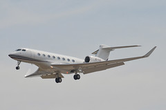 Qatar Executive  Gulfstream G650ER (A7-CGE) LAX Approach 1 (hsckcwong) Tags: qatarexecutive g650er gulfstreamg650er a7cge lax klax