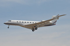 Qatar Executive  Gulfstream G650ER (A7-CGE) LAX Approach 2 (hsckcwong) Tags: qatarexecutive g650er gulfstreamg650er a7cge lax klax