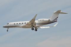 Qatar Executive  Gulfstream G650ER (A7-CGE) LAX Approach 4 (hsckcwong) Tags: qatarexecutive g650er gulfstreamg650er a7cge lax klax