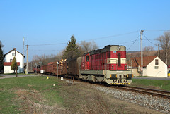742 030, Hradčovice, 1 April 2019 (Mr Joseph Bloggs) Tags: 742 742030 030 czech republic bahn railway railroad zug vlak treno freight cargo merci hradcovice hradčovice