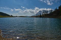 Il laghetto effimero (paolo-p) Tags: montagna mountain acqua water laghi lakes nuvole clouds caserarazzo vigodicadore