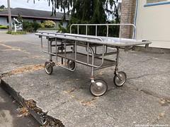 Gurney (CIAphotos) Tags: gurney hospitalgurney ambulance ambulancegurney hospital clevengers hoquiam