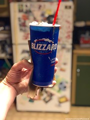 Large Blizzard (CIAphotos) Tags: dairyqueenblizzard blizzard mmblizzard brownieblizzard aberdeenwa dairyqueen