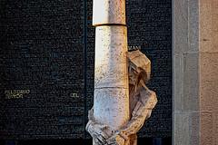 La Sagrada Familia - detail (Fnikos) Tags: gaudí antonigaudí lasagradafamilia construction building architecture column modernism art sculpture statue temple faith basílica religion outside outdoor