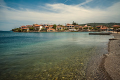 Clear waters.... (Dafydd Penguin) Tags: clear water waterfront sea seafront town waterside island trizonia greece gulf corinth leica m10 summicron 21mm f34 asph