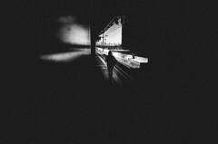 walk alone (matthias hämmerly) Tags: candid street streetphotography shadow contrast grain ricoh gr black white bw monochrom monochrome city town urban blackandwhite strasse people monochromphotography lines einfarbig personen stair staircase bern switzerland music sound streetcomune streetcommunity streetscene travel dark dystopia zuerich zurich woman girl lonely station hb