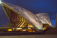 Opera House in laser lights (art.annali) Tags: australia sydney annali nightshot 2018