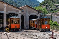 Mallorca - Soller - Straßenbahn 893 (Peter Goll thx for +12.000.000 views) Tags: sóller balearischeinseln spanien strasenbahn mallorca majorca spain tram mediterran 28300mm nikon nikkor balearen train