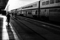 Salinas Station (Dan Brekke) Tags: salinas california amtrak coaststarlight monochrome blackandwhite