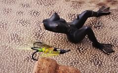 IMG_0021 (www.ilkkajukarainen.fi) Tags: fsihing fish angling pesca urheilu kalastus lust fske sport fishing fiskare salmonfly lohiperho lohi lax salmon atlanticsalmon frog body hook koukku legs jalat fishh leathe kamasan