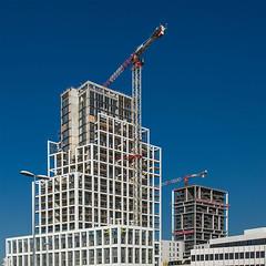 Nieuw-Zuid_12 (jefvandenhoute) Tags: belgium belgië antwerp antwerpen nieuwzuid urban construction