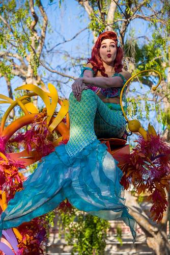 Mickey's Soundsational Parade - Disneyland - Ariel